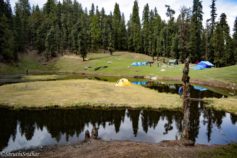 Kedarkantha-Shruthi CS-Juda ka Talab campsite