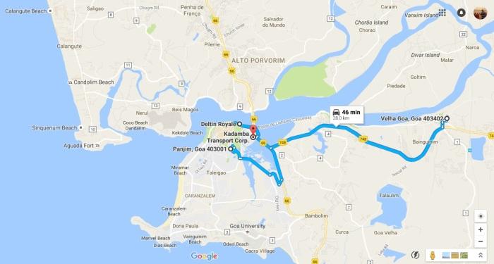 central-goa-map